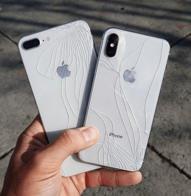 iphone x rotto
