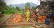Gospel for Asia Builds New Cement Home for Indian Widow and her Daughter
