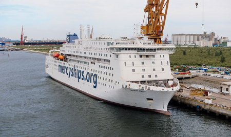 Mercy Ships Unveils Its Second Hospital Ship