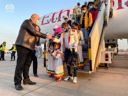 302 Ethiopian-Jewish Immigrants Arrive in Israel