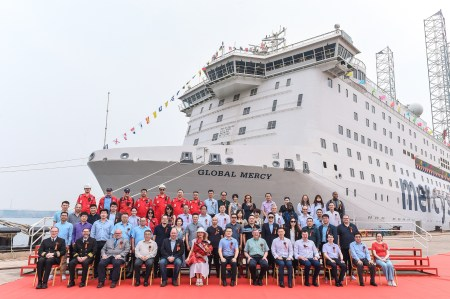 Mercy Ships Takes Delivery of Newly Constructed Hospital Ship The Global Mercy