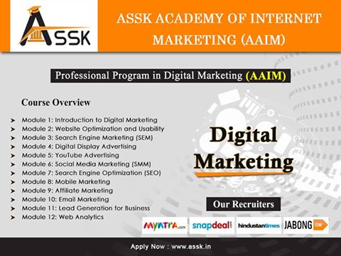Marketing is no longer about making cold calls, spreading flyers and shaking hands while exchanging business cards. Find The Best Digital Marketing Institutes In Delhi/NCR ...