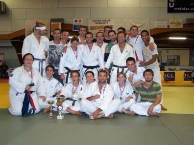 Groupe équipes 2011-2012 : Masculins - 3ème des championnats de Gironde - Champions d'Aquitaine - Sélectionnés au National 2ème division Féminines - 3ème des championnats d'Aquitaine