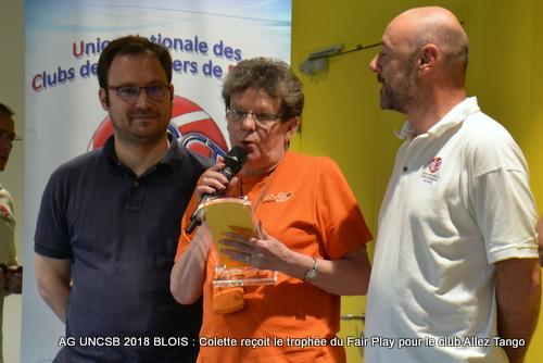 Prix du Fair play 2018