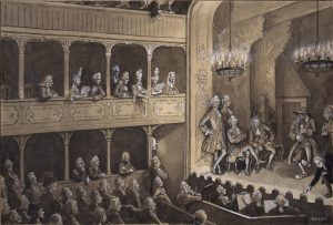 article_sous_le_feu_de_la_rampe_Lighting at The Royal Danish Theatre , Copenhagen 1740