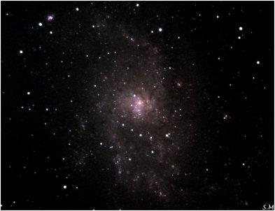 M33 - Galaxie du Triangle