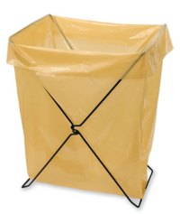 Folding Leaf Bag Holder Pictures to Pin on Pinterest ...