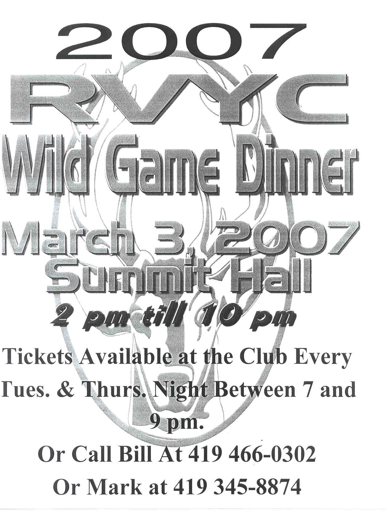 Early 2007 Club Events