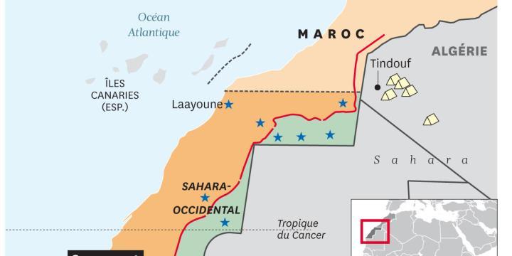 Intervention marocaine hostile sur le brèche de Guerguerat