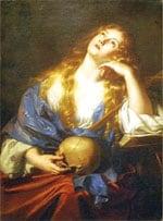 Penitent  Mary Magdalene by Nicolas Régnier