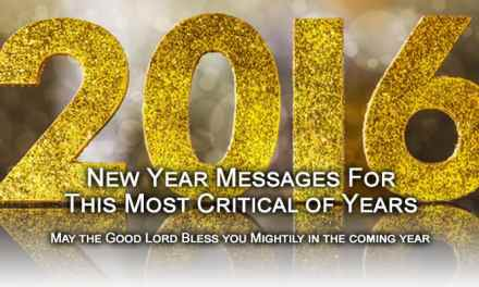 2016 New Years Message