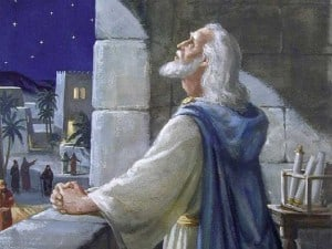 """""""And I set my face unto the Lord God, to seek by prayer …."""" Daniel 9:3"""