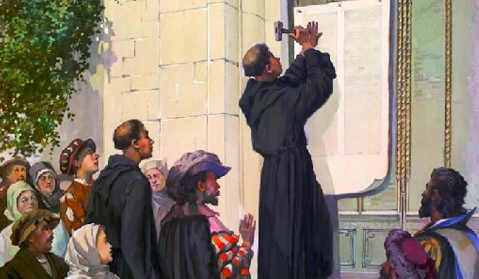 The Ninety-Five Theses the Beginning of the Reformation