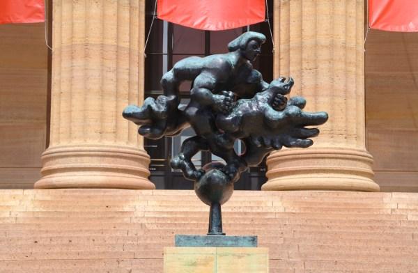 Prometheus Strangling Vulture - Association Public Art