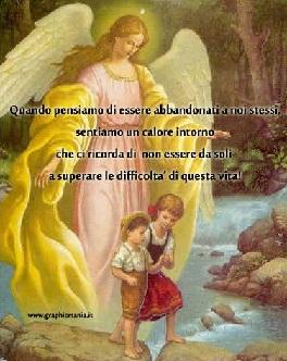 Festa degli Angeli Custodi, cosa faremmo senza…