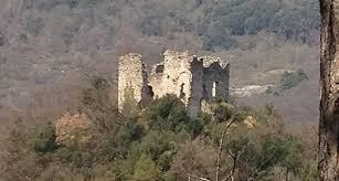 Articolo di giornale sul Castello di Coderone, luogo misterioso ed energetico- La Spezia