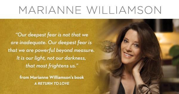 """""""La nostra paura più profonda""""…E' il Ritorno all'amore"""