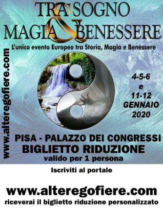 Sabato 4 1 2020 Alle Fiera Esoterica Di Pisa Scioglieremo Antichi Voti E Altro Associazione Culturale Respiro Mentale