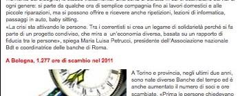 """Dal sito lettera43.it """"Crisi, il tempo è denaro"""""""
