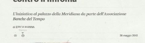 Da La Repubblica del 27 maggio 2015