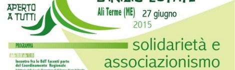 """17a """"Festa-convegno d'inizio estate"""" ad Alì Terme (ME)"""