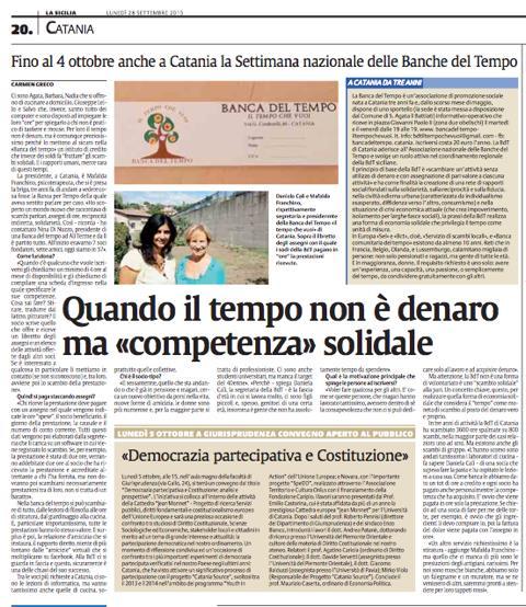 Catania - Settimana Nazionale BDT