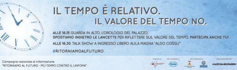 """Documenti informativi della campagna di sensibilizzazione """"RITORNIAMO AL FUTURO""""  conclusasi a Bari il 27/10/2015"""