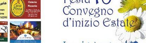 La BdT di Alì Terme presenta la 18° Festa/Convegno d'inizio Estate