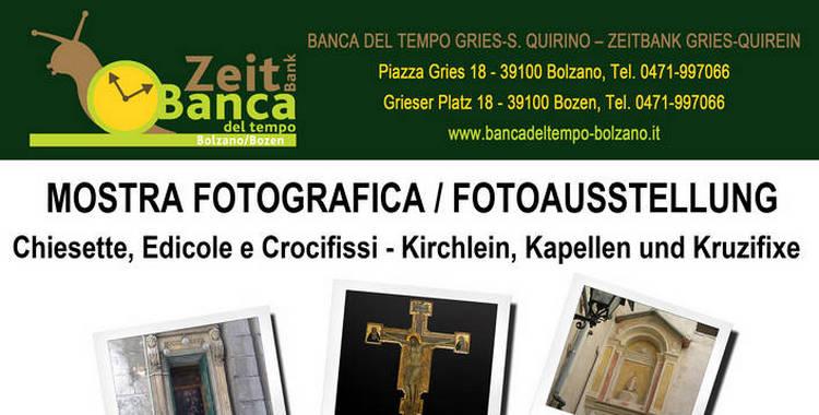 Mostra Fotografica - Fotoausstellung BdT di Bolzano dal 4 al 15 novembre 2019