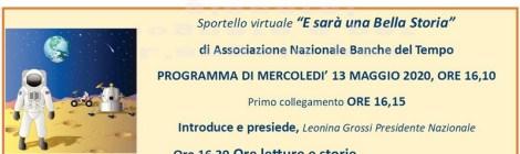 Sportello delle BdT italiane ai tempi del coronavirus - programma del 13 maggio 2020