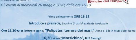 Sportello delle BdT italiane ai tempi del coronavirus - programma del 20 maggio 2020