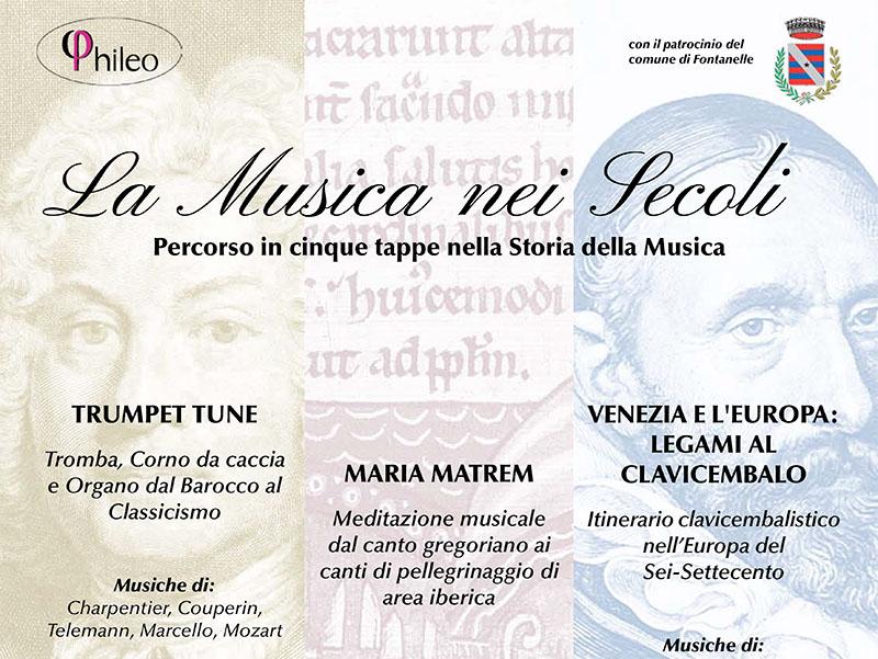 RASSEGNA CONCERTISTICA Musiche dal Canto Gregoriano al Romanticismo
