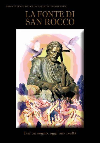 Copertina del libro LA FONTE DI SAN ROCCO, edito da PROMETEUS EDIZIONI PALMI nel 2012