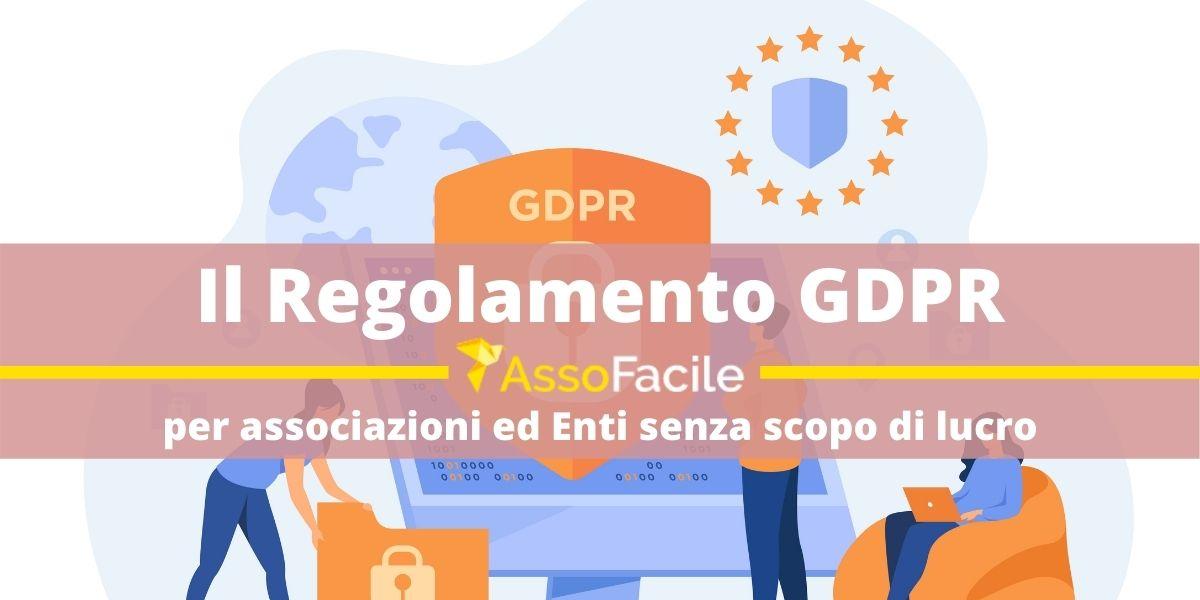 Il GDPR per le Associazioni e gli enti senza scopo di lucro. Come compilare il Registro dei Trattamenti.