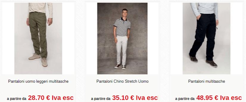 Divisa personalizzata - pantaloni uomo