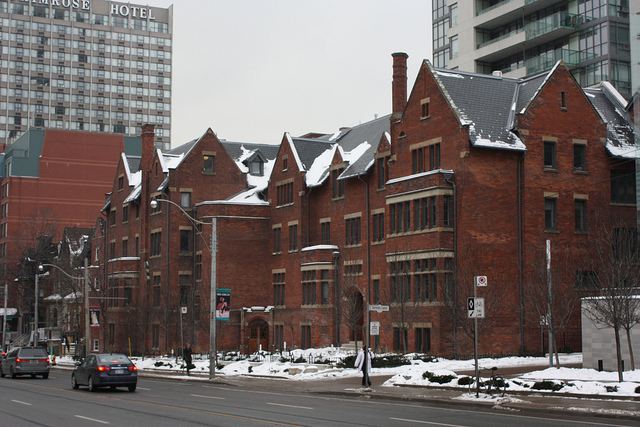 Ye olde Jarvis Street CBC Radio Building (Photo by Andrew Crump)
