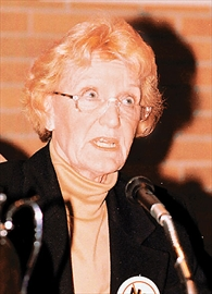 Joyce Trimmer, former Mayor of Scarborough