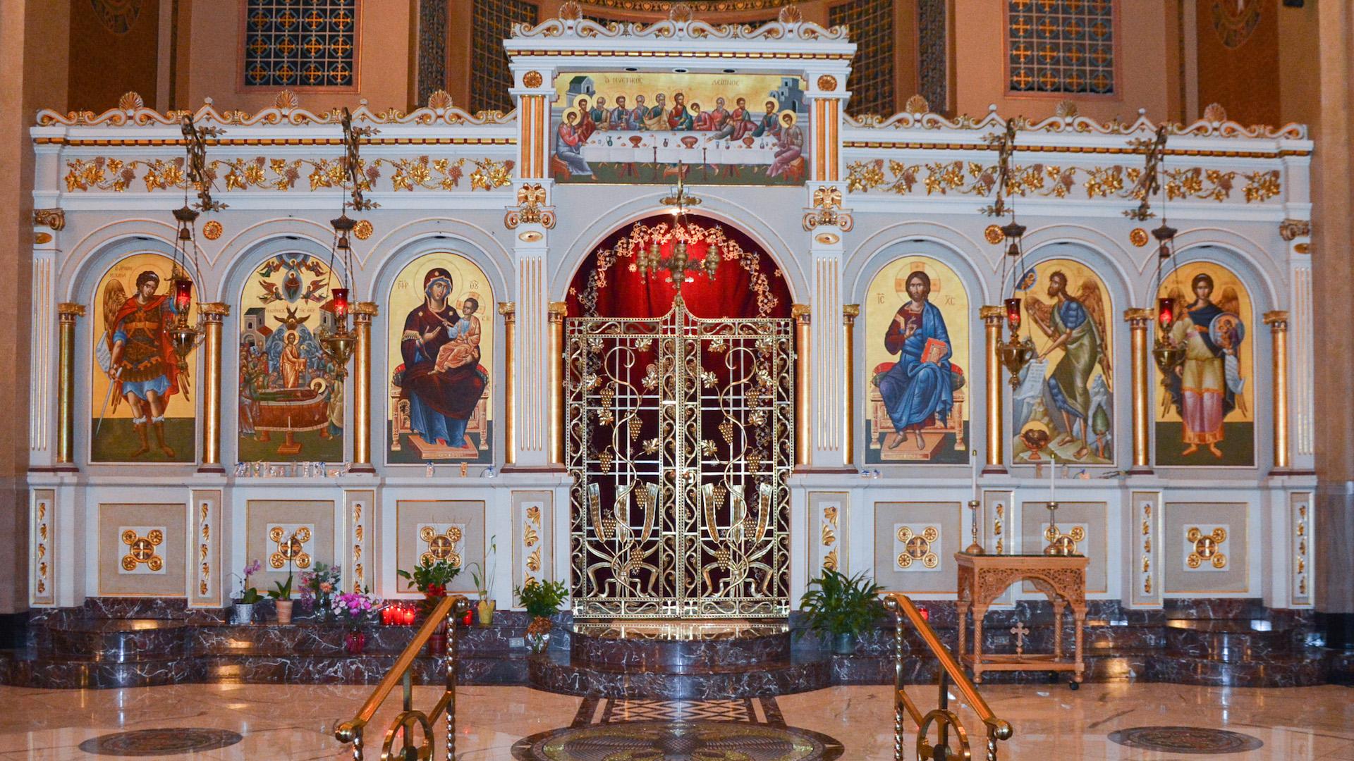 Assumption Panagia Greek Orthodox Church Chicago Greek