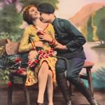 La carte postale originale ayant servi de modèle