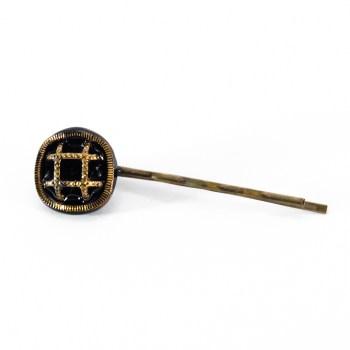 Golden Paulette hair pin