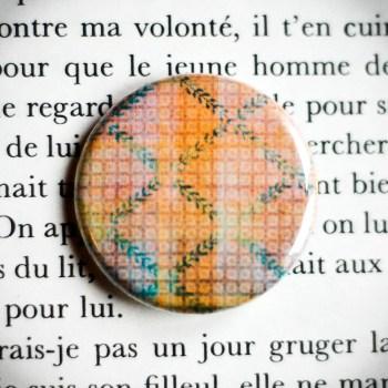 Badge Nappe Jaune 1