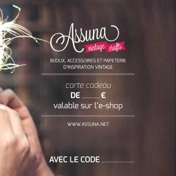 Carte cadeau Assuna 100€