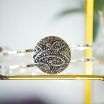 Bracelet vintage Garance argent