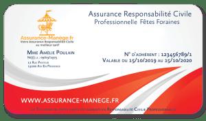 Assurance manège Responsabilité Civile Professionnelle Fêtes Foraines Confiseries et Snacks