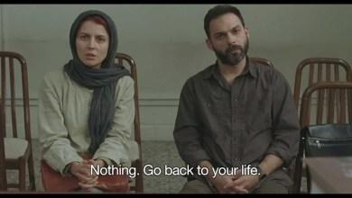 """بيمان معادي وليلى حاتمي في فيلم """"إنفصال"""""""
