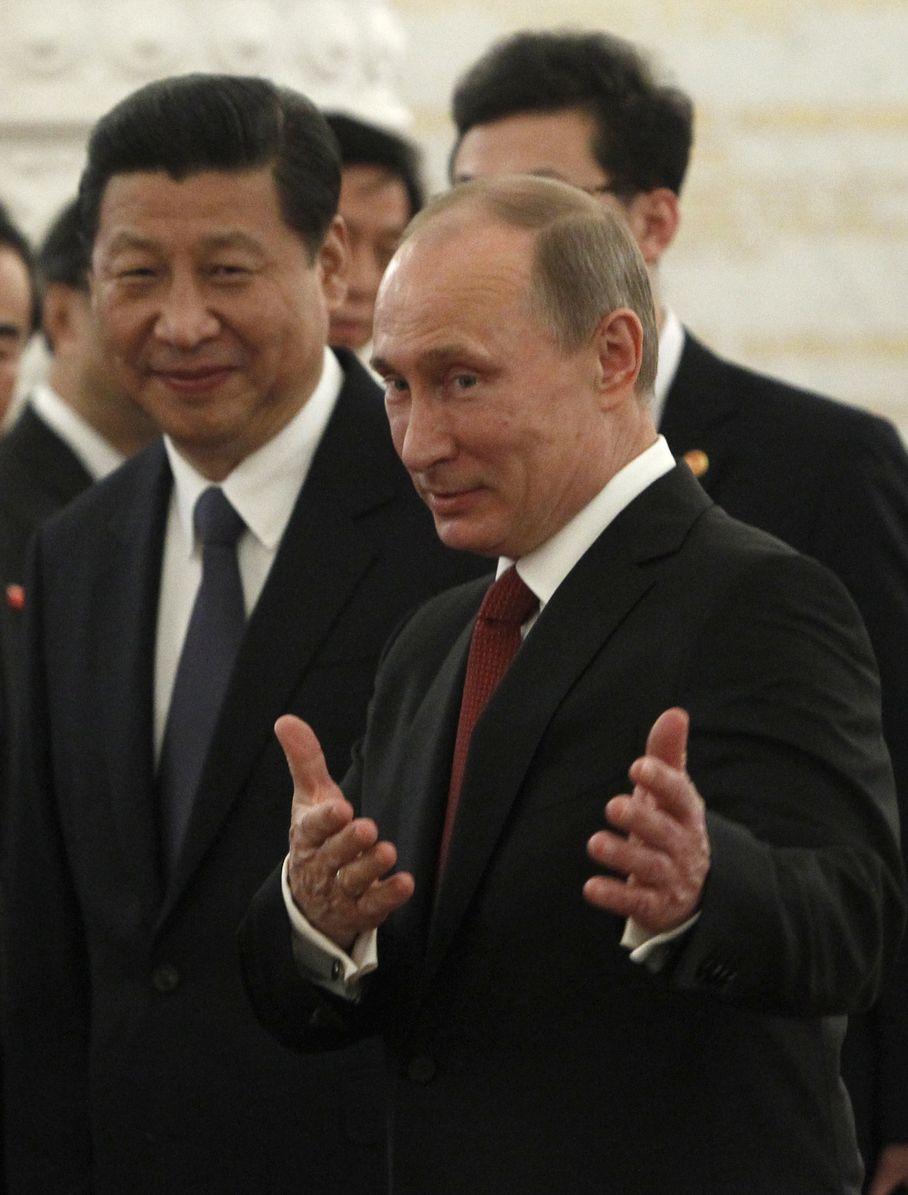 الرئيس فلاديمير بوتين والرئيس الصيني شي جين بينغ: شراكة إستراتيجية في حقل الطاقة