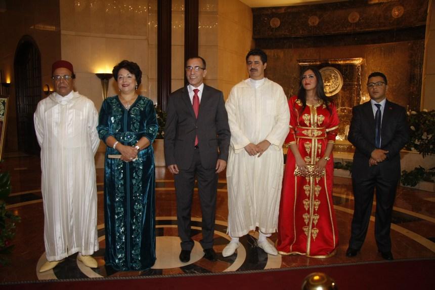 اللبنانيون يحتفلون بعيد العرش المغربي