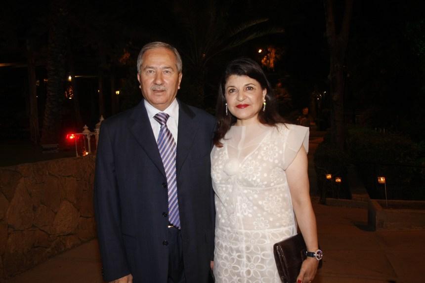 شادية وماهر أبو غزالة