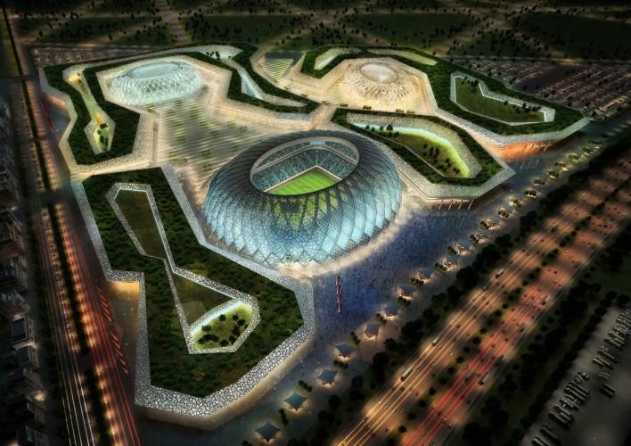 الملاعب لنهائيات كأس العالم في قطر خفضت من 12 إلى 8