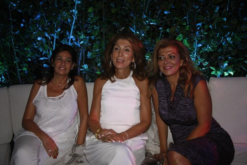 نايلة رسامني، ماريا صفير، تانيا حلو